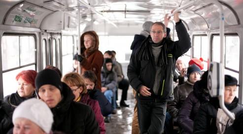 Koen Peeters on the Riga Trams