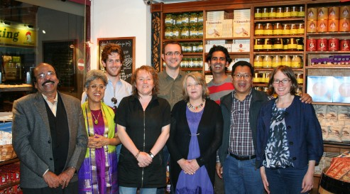 Wales India Writers Chain participants