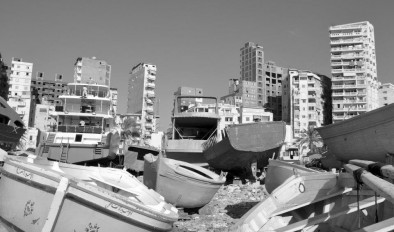 Francesc Serés's image of Alexandria from his Tramlines residency