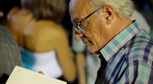 Reading at the Malta Mediterranean Lit Fest 2012