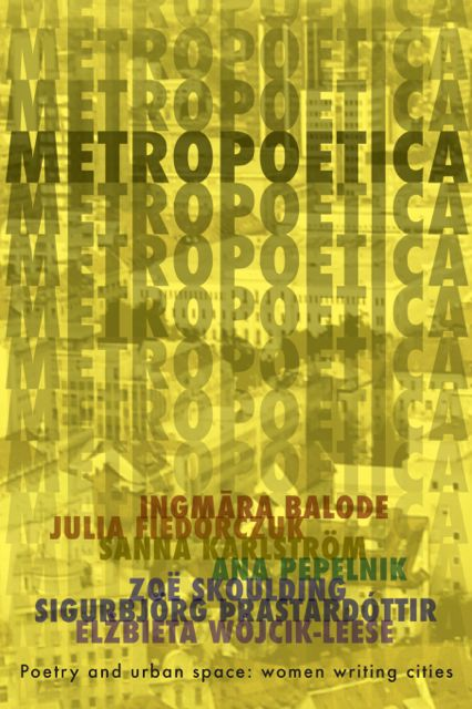 Metropoetica book cover