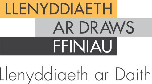 Llenyddiaeth ar draws ffiniau logo Cymraeg