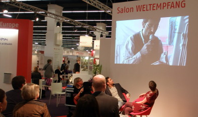 LAF panel debate at the Weltempfang Frankfurt Book Fair 2011