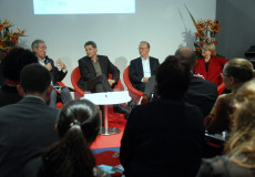 Weltempfang salon Frankfurt discussion 2014 - Publishing translations in UK, Germany and France - a comparative perspective