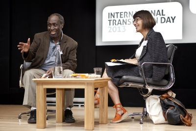 Ngugi Wa Thiong'o in conversation with Amanda Hopkinson at ITD 2013