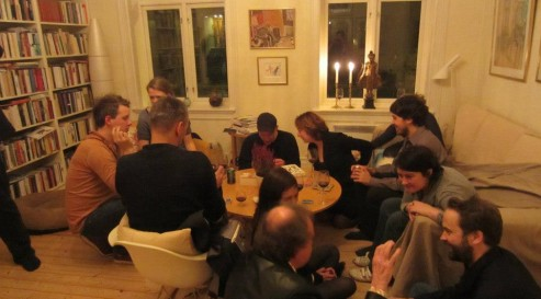 Oslo international poetry festival afterparty