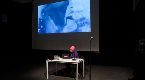 Steve Roggenbuck at Oslo poesiefilm fest 2015