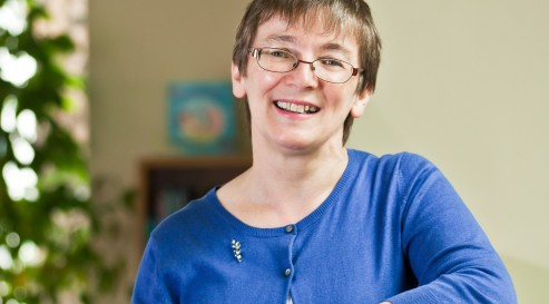 Robyn Marsack, Director of the Scottish Poetry Library