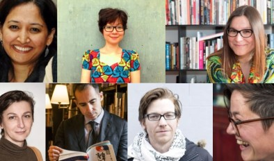A composite image showing some of the speakers from our International Literature Forum at Aberystwyth in April 2016