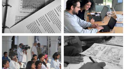LAF publication images