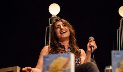 Rumena Bužarovska at the European Short Story  Festival in Zagreb, 2016.